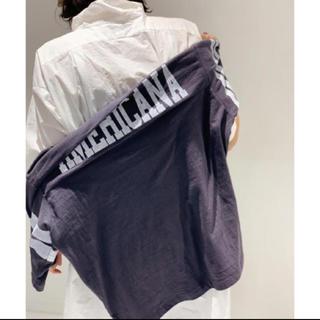 L'Appartement DEUXIEME CLASSE - 新品◆AP STUDIO◆AMERICANA フットボールTシャツ