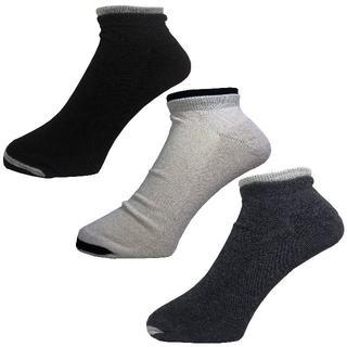アルファ(alpha)のアルファメンズソックス靴下「足口ダブルパイル」3PACK 1055 新品(ソックス)