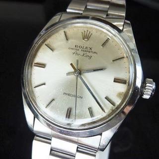 ロレックス(ROLEX)のロレックス エアキング 5500 オイスターブレス 稼働品(腕時計(アナログ))