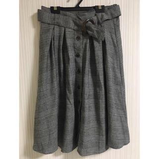 シマムラ(しまむら)の美品💓しまむら スカート(ひざ丈スカート)