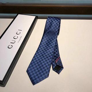 Gucci - 新品未使用 グッチ ネクタイ ネイビー 正規品