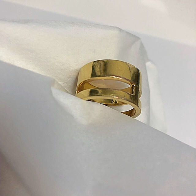 FENDI(フェンディ)のFendi BAG BUGS リング ゴールドMサイズ メンズのアクセサリー(リング(指輪))の商品写真