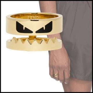 フェンディ(FENDI)の【国内発送・正規品】Fendi BAG BUGS リング ゴールドMサイズ(リング(指輪))