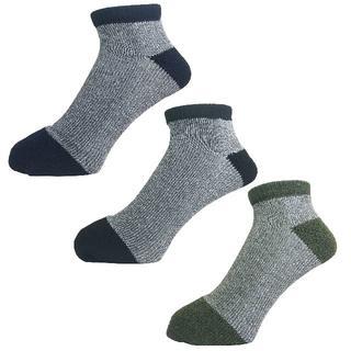 アルファ(alpha)のアルファメンズソックス靴下「つま先切り替え」3PACK 1058 新品(ソックス)