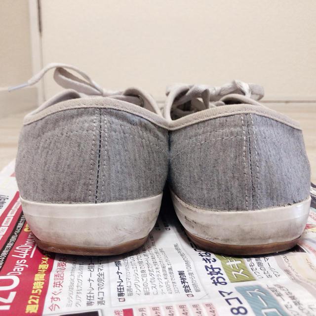 しまむら(シマムラ)のスニーカー 23cm グレー レディースの靴/シューズ(スニーカー)の商品写真
