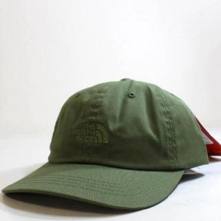 ザノースフェイス(THE NORTH FACE)のノースフェイス キャップ 1966 刺繍 帽子 緑 カーキ 新品 180623(キャップ)