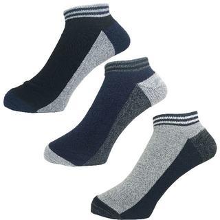 アルファ(alpha)のアルファメンズソックス靴下「底パイル切替」3PACK 1059 新品(ソックス)