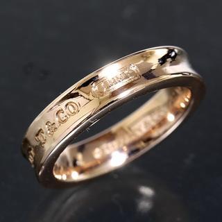 ティファニー(Tiffany & Co.)のティファニー TIFFANY&CO.1837 ルベド リング 6号 ピンク仕上済(リング(指輪))