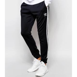 adidas - adidas トラックパンツ ブラック☆☆サイズS