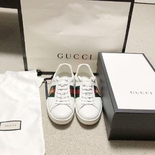 Gucci - GUCCI エンブロイダリー エース スニーカー