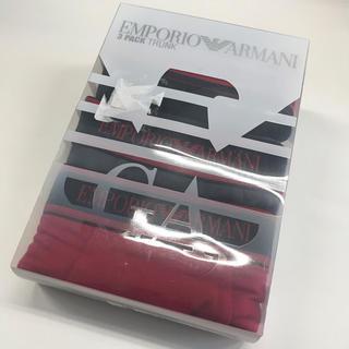 エンポリオアルマーニ(Emporio Armani)の新品 ARMANI メンズボクサーパンツ 3枚(ボクサーパンツ)