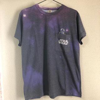 DOUBLE NAME/STARWARS R2-D2ポケットTシャツ