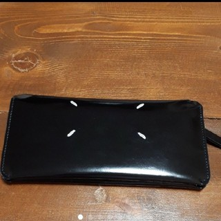 マルタンマルジェラ(Maison Martin Margiela)のマルジェラ 長財布 ブラック(長財布)