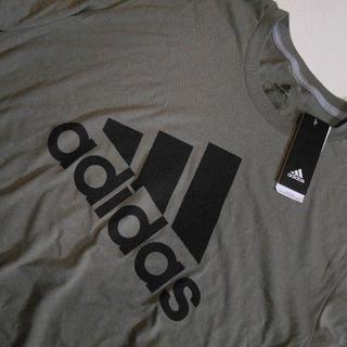 アディダス(adidas)のアディダス*US:XXL/カーキ/BOS Classic/半袖プリントT(Tシャツ/カットソー(半袖/袖なし))