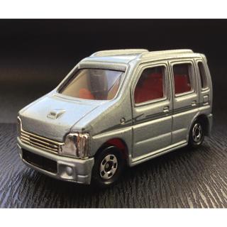 スズキ(スズキ)のトミカ 赤箱 71 初代 SUZUKI スズキ ワゴンR 1/57 銀 シルバー(ミニカー)