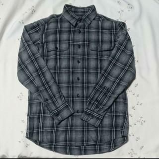 ユニクロ(UNIQLO)のチェックシャツ ユニクロ 【M】長袖(シャツ)