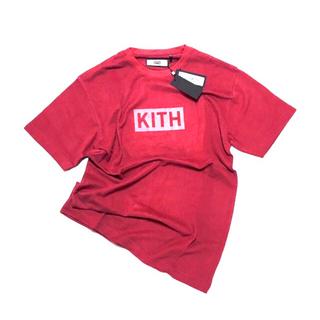 正規品 KITH キス クラシックボックスロゴTシャツ レッド