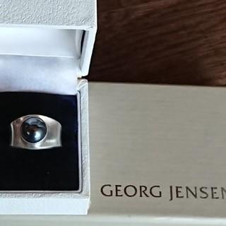 ジョージジェンセン(Georg Jensen)のジョージジェンセン 124 ヘマタイト(リング(指輪))