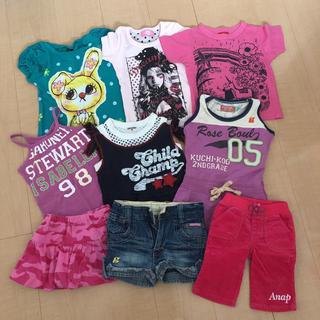 アナップキッズ(ANAP Kids)のキッズ ベビー 洋服セット(Tシャツ/カットソー)
