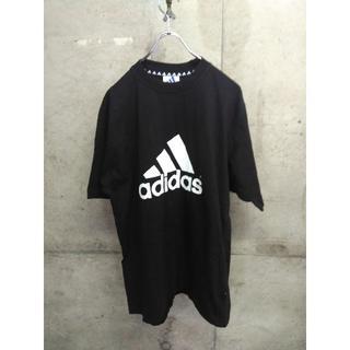 アディダス(adidas)の90s adidas/アディダス ビッグロゴ Tシャツ Lサイズ(Tシャツ/カットソー(半袖/袖なし))