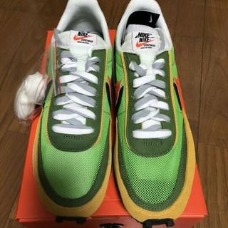 NIKE - Nike Sacai LDWaffle グリーン 27cm