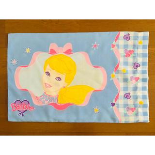 バービー(Barbie)のバービー ビンテージピローケース  ビンテージシーツ(生地/糸)