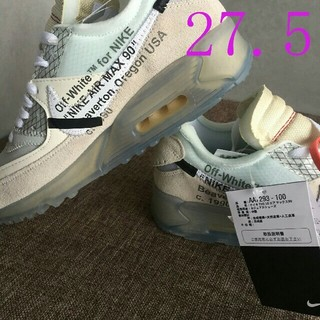 OFF-WHITE - THE10 NIKE×OFF WHITE AIR MAX 90 27.5