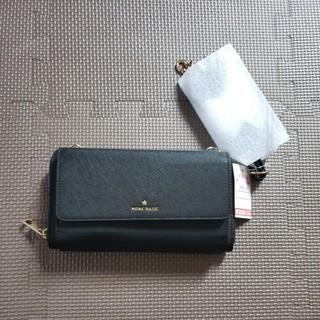 シマムラ(しまむら)の未使用 お財布ショルダー しまむら 黒(財布)