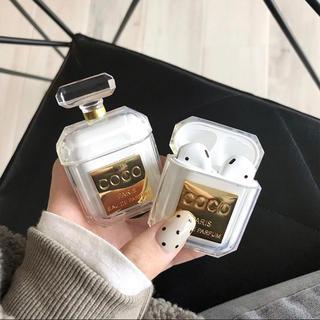 Apple - AirPodsケース / 香水風 韓国 イヤーフック付き♡激かわ