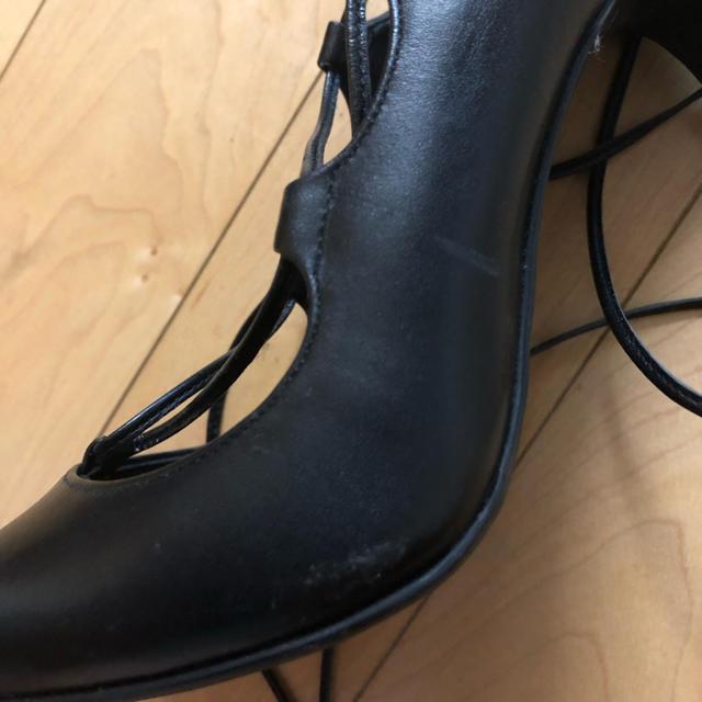 DIANA(ダイアナ)のダイアナ 紐付き パンプス 着用1回 週末お値下げ! レディースの靴/シューズ(ハイヒール/パンプス)の商品写真