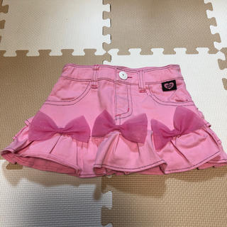 アースマジック(EARTHMAGIC)のアースマジック  ピンクスカパン  130  新品試着のみ美品♡(スカート)