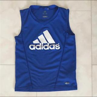 アディダス(adidas)のadidasノースリーブシャツ(ウェア)