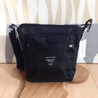 マリメッコ(marimekko)の新品 marimekko PAL マリメッコ パル ショルダーバッグ ブラック(ショルダーバッグ)