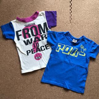ジャンクストアー(JUNK STORE)のF.O. 半袖Tシャツ 2枚セット 110cm(Tシャツ/カットソー)