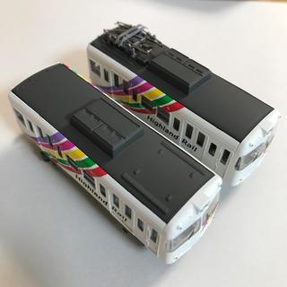 バンダイ(BANDAI)のBトレイン松本電気鉄道3000型2両セット【組立済み】(鉄道模型)