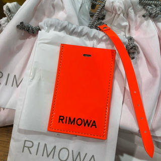 アンブッシュ(AMBUSH)の新品未使用RIMOWA AMBUSH luggage tag(旅行用品)