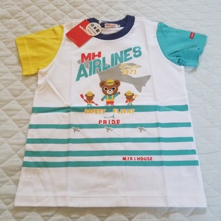 mikihouse - ミキハウス110サイズプッチーくんTシャツ