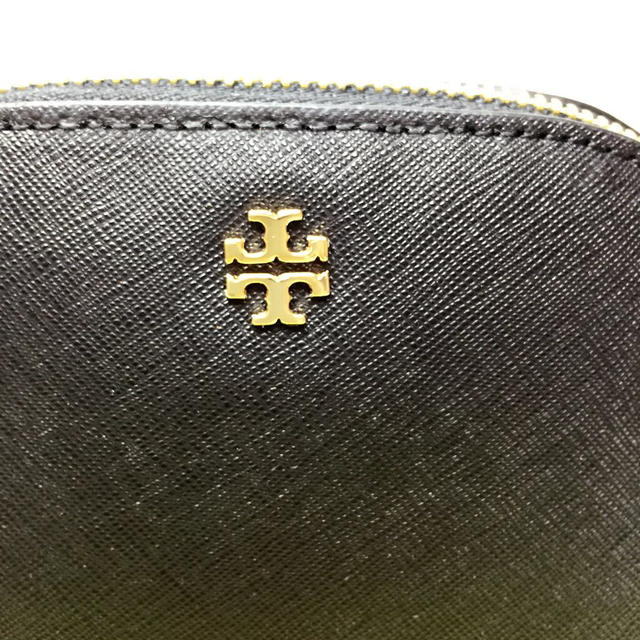 Tory Burch(トリーバーチ)の新品 トリーバーチ 化粧ポーチ /黒  レディースのファッション小物(ポーチ)の商品写真