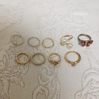 シマムラ(しまむら)の指輪 リング ゴールド 蝶(リング(指輪))