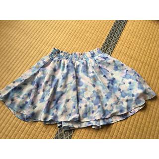 ジーユー(GU)のひらひらスカート(ミニスカート)
