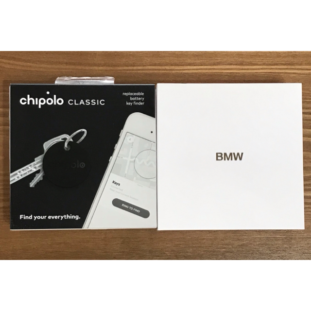 BMW(ビーエムダブリュー)のBMW オリジナル・スマートアクセサリー チポロ chipolo CLASSIC スマホ/家電/カメラのスマホアクセサリー(その他)の商品写真