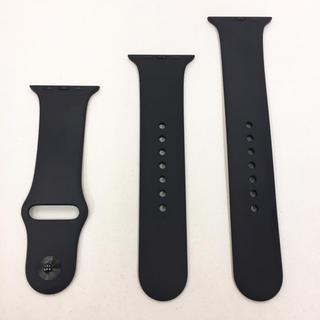 Apple Watch - アップル純正 スポーツバンド 黒 Apple Watch 44mm用