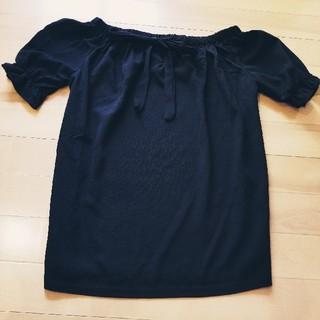 アンズ(ANZU)の◆ANZU◆パフ袖リボンカットソー◆(カットソー(半袖/袖なし))