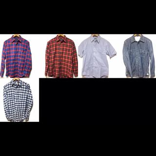 ユニクロ(UNIQLO)の厚手チェックシャツ3点(シャツ)