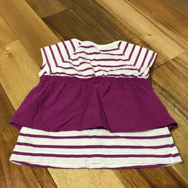 GU(ジーユー)のGU Tシャツ 110cm キッズ/ベビー/マタニティのキッズ服 女の子用(90cm~)(Tシャツ/カットソー)の商品写真