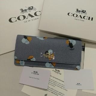 COACH - [COACH☆未使用]人気美品  花柄長財布 品番F53751