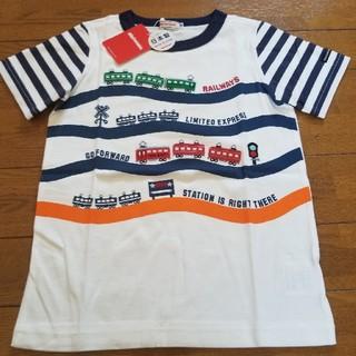 mikihouse - ミキハウス120サイズトレインTシャツ