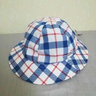 モンベル(mont bell)の美品●モンベル●子供 帽子 baby キッズ ハット mont-bell(帽子)