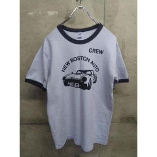 ダブルワークス(DUBBLE WORKS)のDUBBLE WORKS リンガー Tシャツ M WAREHOUSE 日本製(Tシャツ/カットソー(半袖/袖なし))