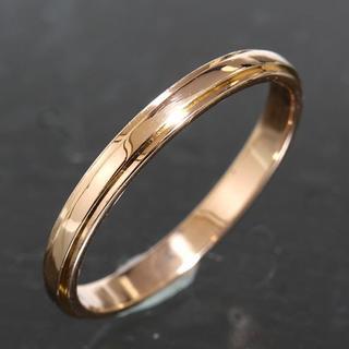 カルティエ(Cartier)のカルティエ cartier ダムール リング size57 K18PG 新品仕上(リング(指輪))